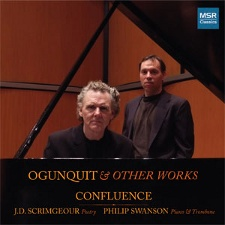 OGUNQUIT & Other Works - Spoken Poetry with Trombone and Piano